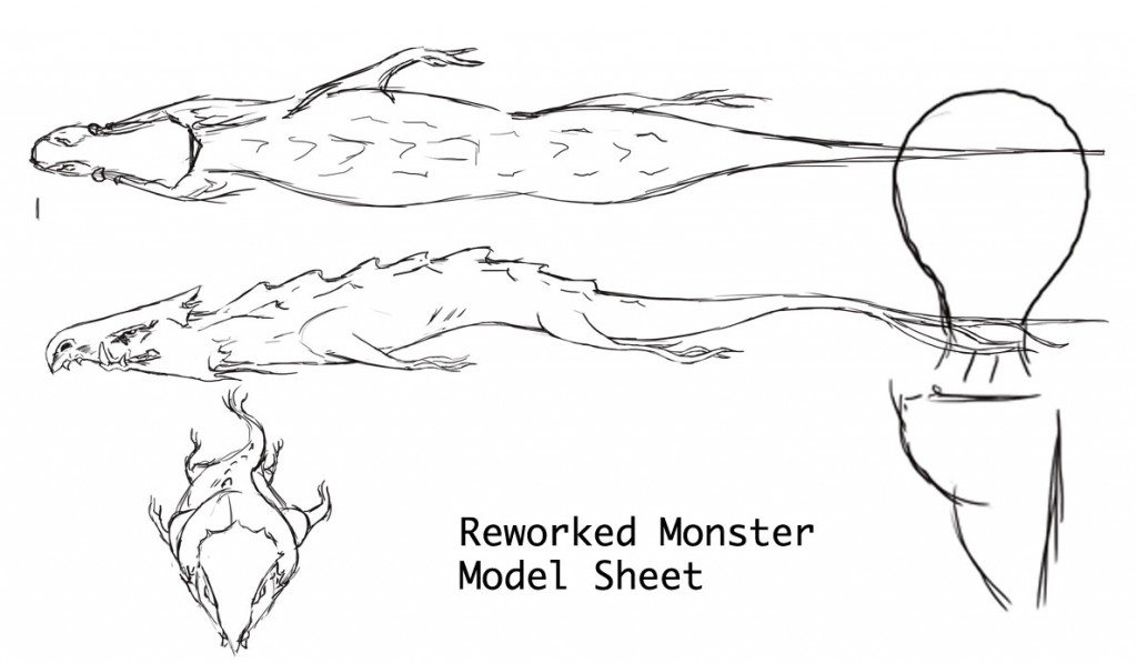 Monster Design Sketches